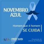 CRESS Goiás apoia campanha Novembro Azul