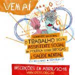 1º Seminário Trabalho do/a Assistente Social na Política sobre Drogas e Saúde Mental