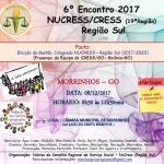 6º Encontro 2017 Nucress/Cress Região Sul (19ª Região)