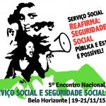 5º Encontro Nacional Serviço Social e Seguridade Social