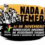 Mobilização Nacional de Assistentes Sociais contra a regressão de direitos