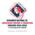 CRESS Goiás participa de seminário nacional de capacitação contábil e financeira