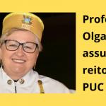 Professora Olga Ronchi assume reitoria da PUC Goiás