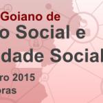 Programação do Encontro Goiano de Serviço Social e Seguridade Social