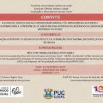 Conferência de abertura das atividades acadêmicas da Graduação e Mestrado de 2018/1