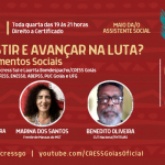 Mesa de movimentos sociais abre Mês da/o Assistente Social promovido pelo CRESS Goiás