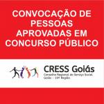 CRESS Goiás convoca pessoas aprovadas em concurso