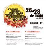 2º Encontro Nacional em Defesa da Previdência Social e do Serviço Social no INSS