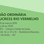 Reunião Ordinária do NUCRESS Rio Vermelho