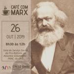 Grupo de estudos Café com Marx reúne-se sábado, 26 de outubro