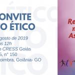 CRESS Goiás entrega DIP a novos/as profissionais em Ato Ético dia 16