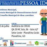 Planaltina sedia II Conferência Regional dos Direitos da Pessoa Idosa