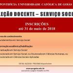 Prazo de inscrição para seleção de docente da PUC-GO termina dia 31