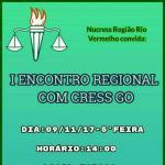 Convite: I Encontro Regional com Cress GO
