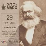 Grupo de estudos Café com Marx tem encontro dia 29 de fevereiro