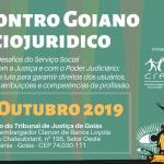 Abertas inscrições para II Encontro Goiano Sociojuridico do CRESS Goiás