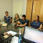 CRESS Goiás dialoga com assistentes sociais de Aparecida de Goiânia