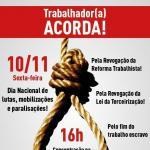 Chamado: assistentes sociais na mobilização nacional contra a retirada de direitos