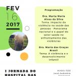 I Jornada do Hospital das Clínicas: impacto das violências interpessoais e desafios para a saúde