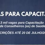 SEST-SUS oferta 3 mil vagas para Curso de Capacitação de Conselheiros (as) de Saúde em Goiás