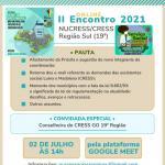 II Encontro Online do NUCRESS Sul