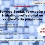 Presidente do CRESS Goiás ministra Aula Inaugural do Serviço Social da PUC Goiás