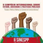 Vem aí o II Simpósio Internacional sobre Estado, Sociedade e Políticas Públicas – SINESPP