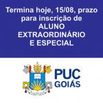 Termina hoje 17 horas prazo para inscrição de Aluno Extraordinário e Especial da PUC