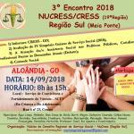3º Encontro 2018 NUCRESS/CRESS Região Sul
