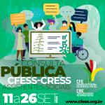 Consulta Pública para a agenda de ações CFESS-CRESS ocorre até o dia 26